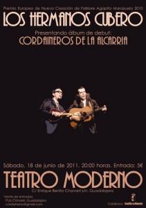 Los Hermanos Cubero en el Teatro Moderno