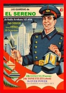 cartel diciembre
