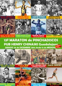 cartel maraton 2014 con marco