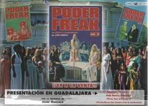 presentación Poder Freak Onofre