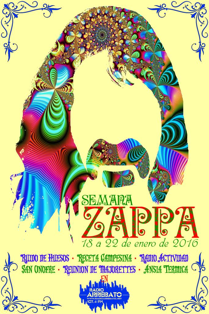 Poster Zappa week 01