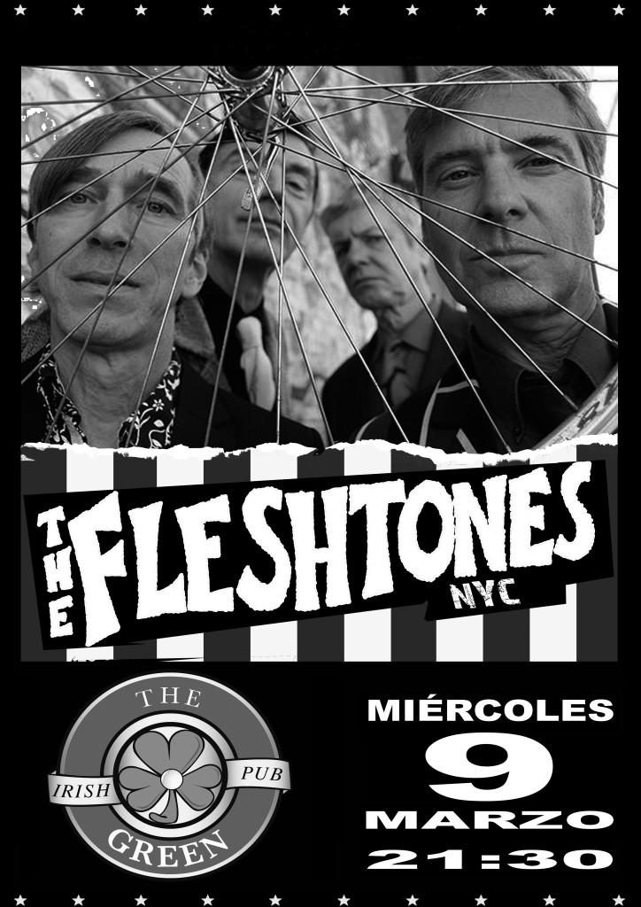 Poster Fleshtones 2016 Alcala